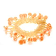 jenny llewellyn Lumini necklace- orange