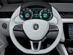 Photographs of the 2011 Skoda VisionD Concept. An image gallery of the 2011 Skoda VisionD Concept. Car Ui, Concept Cars, Super Cars, Archery, Motors, Photographs, Meet, Gallery, Inspiration