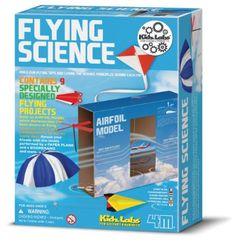 Great Gizmos Kidz Labs Flying Science Kit: Amazon.co.uk: Toys & Games. £10.78