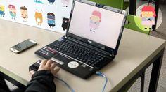 Interaction design, Digital media design, Hongik Univ. 2016 Final Project 'Change Character'  2016 홍익대학교 디지털미디어디자인 인터랙션디자인 기말 프로젝트 '캐릭캐릭 체인지'