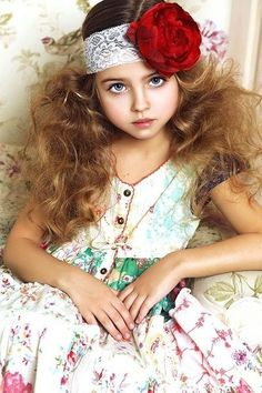 Young boho look layered dress Teen Models, Young Models, Child Models, Divas, Cherry Blossom Girl, Future Daughter, Famous Girls, Russian Models, Lany