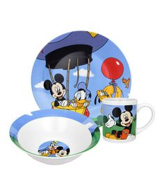 Another great find on #zulily! Mickey Mouse Clubhouse Mealtime Set #zulilyfinds