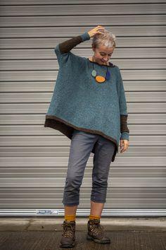 two-shade Strathendrick – Kate Davies Designs - Love Yarn Simply Knitting, Beginner Knitting, Look Fashion, Womens Fashion, 50 Fashion, Knitting Patterns, Knitting Wool, Loom Patterns, Knitwear