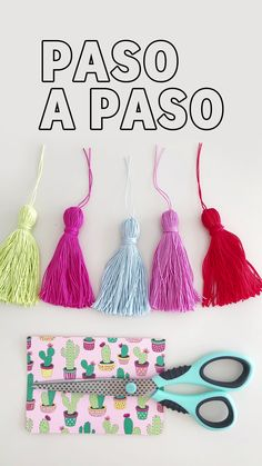 Borlas de hilo - The Effective Pictures We Offer You About diy face mask sewing pattern A quality picture can tell - Yarn Crafts, Fabric Crafts, Diy And Crafts, Crafts For Kids, Arts And Crafts, Paper Crafts, Upcycled Crafts, Kids Diy, Crafts To Sell