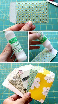 gift card sized enveloppes