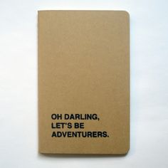 Adventurers Notebook | FIFI DU VIE