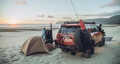 @lawndartdesign making me jealous. Dang what a great spot. Repost @lawndartdesign ・・・ Beach bum. Special thanks to @shufly09 in helping source some new scepter cans. He's also got an awesome 5th gen build as well. #4runner #toyota #oregoncoast