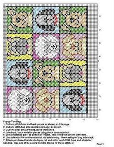 PLASTIC CANVAS (p. 5) | Learn crafts is facilisimo.com