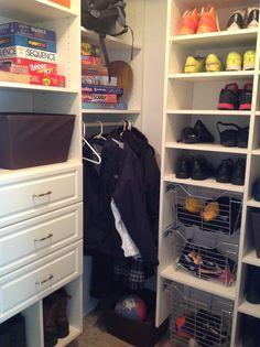 Created By Designer Elizabeth Bowman California Closets Cleveland Ohio Closet Storage Systems