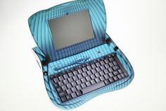 Apple's Forgotten Designs - eMate 300 laptop for students, 1997. Designed by Jony Ive.