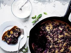 Blueberry cobbler. (Photo by Johnny Autry)