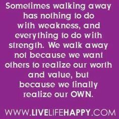 Realizing our own worth