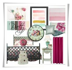 Pretty Mood Board by bloodshyft on Polyvore featuring interior, interiors, interior design, home, home decor, interior decorating, Americanflat, Stylemaster, Shabby Chic and Designers Guild