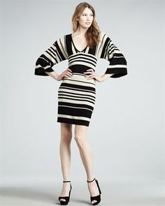 Trina Turk Bredene Striped Dress