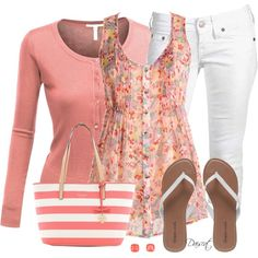 """""""Summer Mixed Prints"""" by daiscat on Polyvore"""
