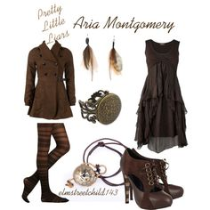 My Aria inspired outfit from Pretty Little Liars