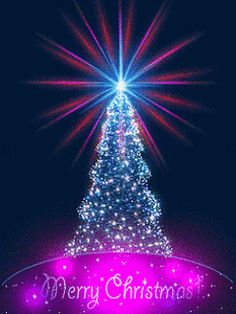 Merry Christmas gif, images, wishes, and quotes to help you share the magic of the holiday season Animated Christmas Tree, Xmas Gif, Merry Christmas Pictures, Merry Christmas Images, Xmas Photos, Vintage Christmas Images, Christmas Scenes, Merry Christmas And Happy New Year, Christmas Wishes