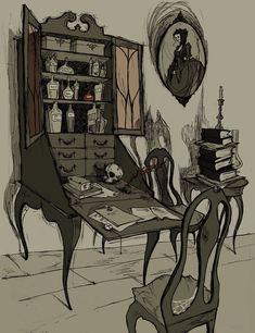 Undertaker's Cabinet by AbigailLarson.deviantart.com on @deviantART
