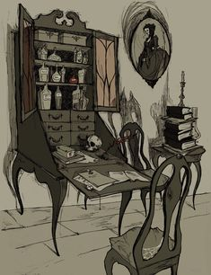 Undertaker's Cabinet by *AbigailLarson on deviantART