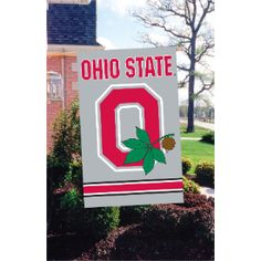 Ohio State Buckeyes Outdoor Flag #1