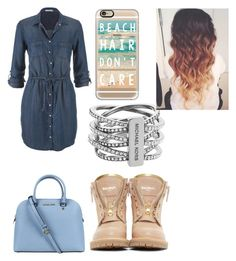 """""""Untitled #7"""" by bigkoolkid on Polyvore featuring maurices, Michael Kors, Balmain and Casetify"""