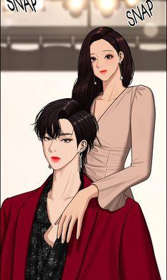 Asian Men Fashion, Romantic Anime Couples, Cute Anime Coupes, Webtoon Comics, Bts Chibi, Couple Art, Anime Outfits, Anime Art Girl, Movies Showing