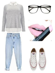 """""""Untitled #11"""" by cuchiplasti on Polyvore featuring Studio 8, Levi's, Converse, Fiebiger, women's clothing, women, female, woman, misses and juniors"""