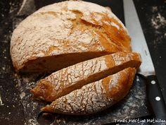 For en tid tilbake leste jeg en artikkel fra The New York Times, om en brødoppskrift eller nærmere sagt brødbakemetode utviklet av Jim Lahey fra The Sullivan Street Bakery…