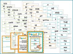 Dolch Word Letter Bead Practice (Common Core) all 11 lists available  A Differentiated Kindergarten