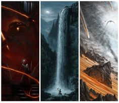 Cool Art: The Lord Of The Rings by JC Richard