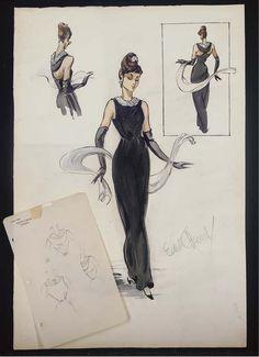 Audrey Hepburn en Desayuno con diamantes (Edith Head)