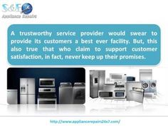 A reliable and trustworthy appliance repair shop in your area need not be a strenuous and stressful issue. If you're washing machine goes on the fritz and you do not know who to call for the best results here are a few places to start.