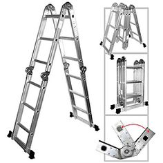 Multipurpose Aluminum Folding Ladder. 11 foot ladder on amazon.com approx. $55 + $28 shipping. Need this.