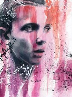Colored Pencil Portrait, Eleven Stranger Things, Best Series, Teenager Posts, Cute Drawings, Fanart, Deviantart, Friends, Artwork