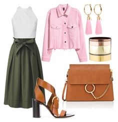"""Regina"" by anitamg on Polyvore featuring Uniqlo, Chloé, Mignonne Gavigan and Gemma Redux"