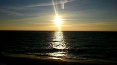 #sunset #sea #baltic #Hel #beach #winter
