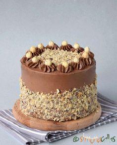 Ferrero Rocher, Oven Racks, Savoury Cake, Cake Mold, Mini Cakes, Clean Eating Snacks, Nutella, Delicious Desserts, Bacon