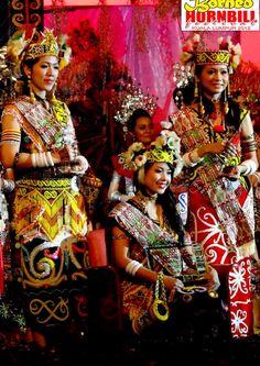 Kumang Keligit of Borneo Hornbill Festival 2012