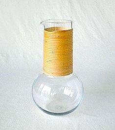 KAJ FRANCK - Glass carafe 'KF 1621' for Nuutajärvi Notsjö, Finland. Glass Design, Design Art, Lassi, Glass Pitchers, Carafe, Product Design, Modern Contemporary, Art Decor, Glass Art