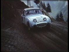 Austin Healey Sprite PMO 200 - John Sprinzel & Willy Cave - 1958 Alpine Rally