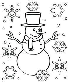 Snowflake Coloring Pages Printable - Printable Coloring Pages To Print Snowflake Coloring Pages, Snowman Coloring Pages, Christmas Tree Coloring Page, Coloring Pages Winter, Christmas Coloring Sheets, Mandala Coloring Pages, Coloring Pages To Print, Printable Coloring Pages, Coloring Pages For Kids