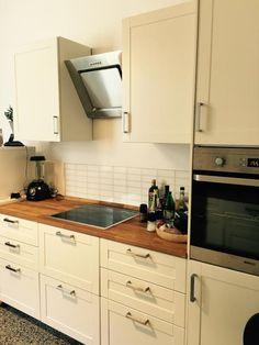 Vintage K chenzeile in sch ner Hannover Wohnung Wohnen in Hannover kitchen K che Hannover