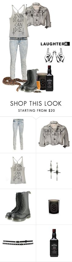 """Broken but still whole"" by deviousinstinct ❤ liked on Polyvore featuring True Religion, Miso, Obesity and Speed, Vegetarian Shoes, Diptyque and Oasis"
