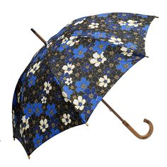 A classic wood look umbrella with a beautiful floral print. The Clifton Wood Look Floral Walking Art Flower is not only eye catching but practical.