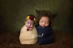 Beauty and the Beast newborn photography