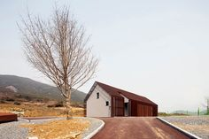 modern Houses by (주)오우재건축사사무소 OUJAE Architects