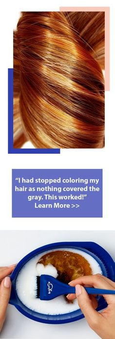 """Forget traditional hair dye, try this: """"I get compliments on my hair all the time. The cost is about as much as the TIP I had to leave for my stylist."""""""