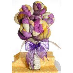 """Jimmy Beans Wool Flower Bouquets - '14 March LLE Color """"Bon Temps Rouler"""""""