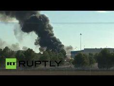 Primeras imágenes del caza de la OTAN accidentado en España - RT