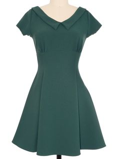 Such a Doll Dress in Emerald | PLASTICLAND